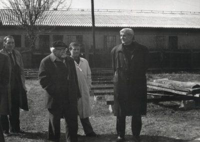 Članovi Inicijativnog odbora ispred zgrade Muzeja