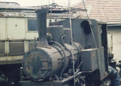 Dopremanje lokomotive 207 u Hrvatski željeznički muzej