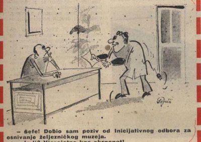 Željezničar br.320, 1982