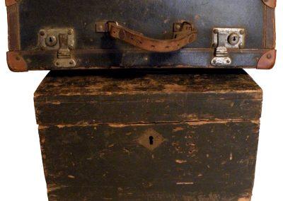 Stari tip putničkih kovčega