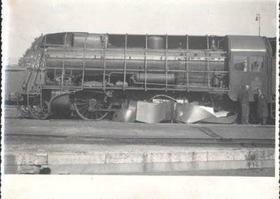 Pregradnje na lokomotivi serije 01