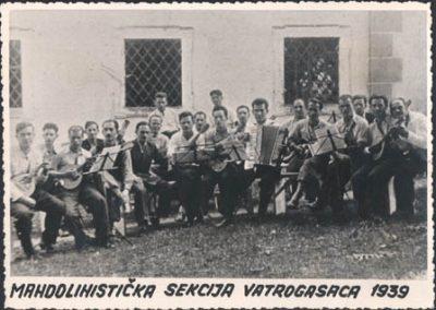 Mandolinistička sekcija vatrogasaca