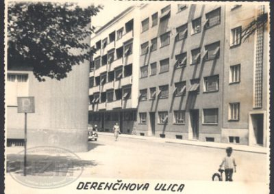 Zagreb, Derenčinova ulica, za potrebe radnika TŽV-a Gredelj