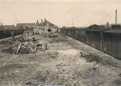 Slavonski Brod, požar na kolodvorskom skladištu
