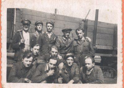 Radnici Kolske radionice Varaždin
