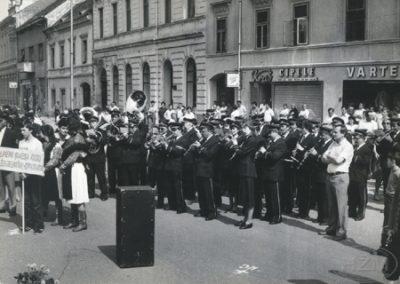 Četrdeseta obljetnica limene glazbe Željezničar, Koprivnica
