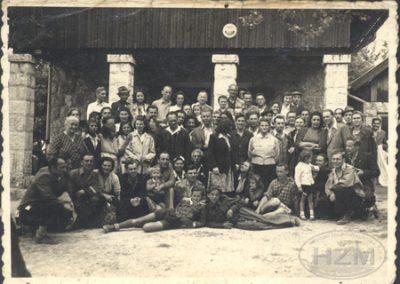 Radnici Radionice Zagreb JDŽ na izletu na Glavici (društvo Prijatelji prirode)