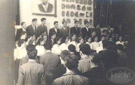 Pjevački zbor Željezničkog tehnikuma u Puli