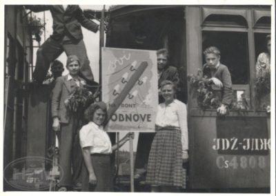 Putnički vagon u sastavu vlaka