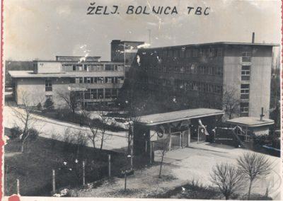 Bolnica željezničara za tuberkulozu i plućne bolesti u Zagrebu