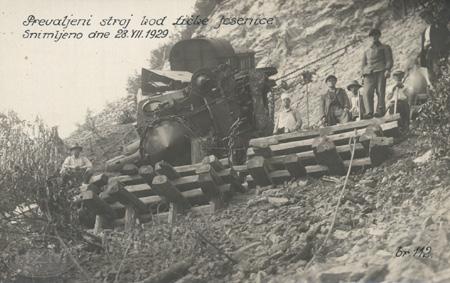 Željeznička nesreća kod Ličke Jesenice