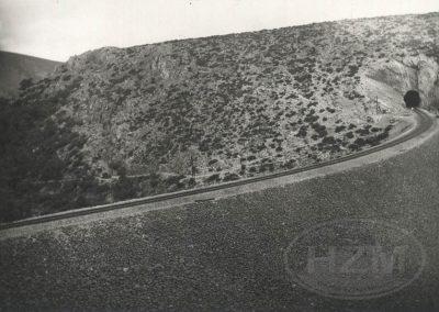 Pružna dionica Kaštel Stari - Split 1929.