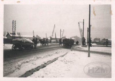 Željezničko cestovni prijelaz u Heinzlovoj ulici u Zagrebu