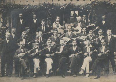 Tamburaški zbor Prosvjetne sekcije Zagreb; nastup u Ogulinu