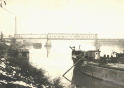 Most preko Drave kod Osijeka