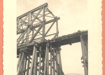 Provizorni most preko Drave kod Barcsa