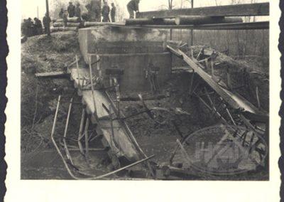 Popravak mosta na 145.112 km pruge Virovitica - Kloštar