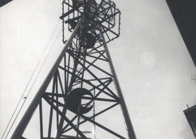 UKV toranj u dvorištu Mihanovićeve 12 u Zagrebu