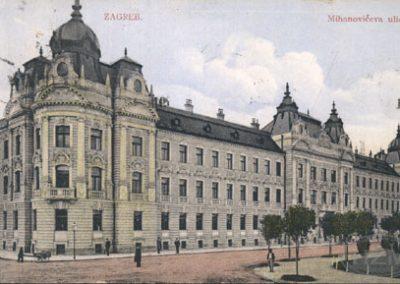 Zagreb, Mihanovićeva ulica (upravna zgrada)