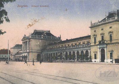 Zagreb Državni kolodvor, početak 20. stoljeća