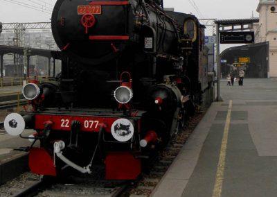 Parna lokomotiva JŽ 22-077