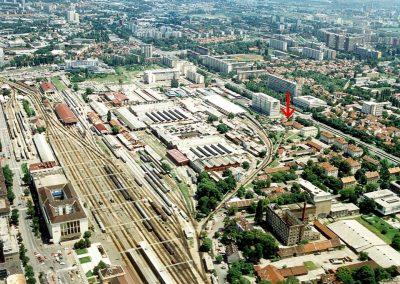 HŽM se nalazi u južnom dijelu TŽV-a Gredelj s ulazom iz Ulice grada Vukovara