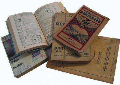 Knjižice voznih redova, Zbirka voznih redova