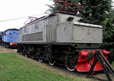 lektrična lokomotiva JŽ 361-201,Construzioni Mecaniche Saranno, 1932.
