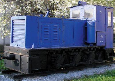 Dizel lokomotiva M 32, Gmeider, 1942.