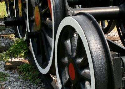 Kotači parne lokomotive JŽ 22-024, MAV, 1912.