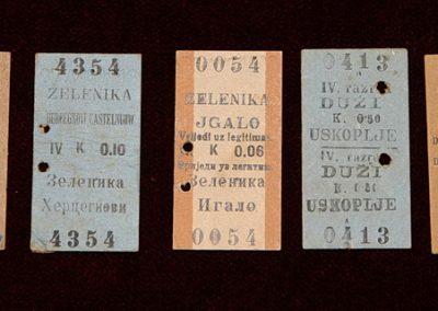 Prijevozne karte tzv. Edmondson tipa