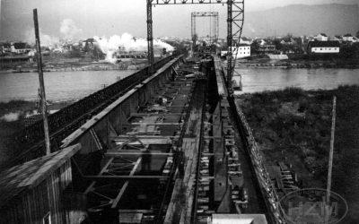 Savski željeznički most u Zagrebu