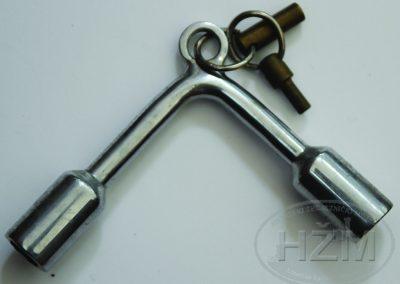 Ključ za otvaranje vrata kupea u vagonu
