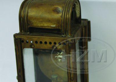 Karbidna svjetiljka pregledača vagona, 1.pol.20.st.
