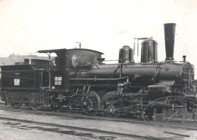 Parna lokomotiva JDŽ 120-012
