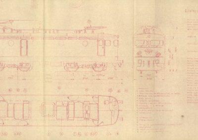 Glavni i pomoćni strujni krug električne lokomotive 441